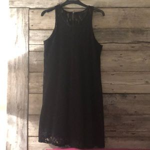Others Follow Black Lace Dress Size S
